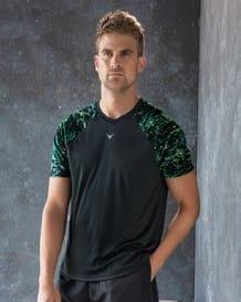 camiseta deportiva con mangas estampadas-700- Black-MainImage