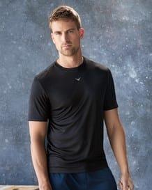camiseta deportiva semi ajustada de secado rapido-700- Black-MainImage