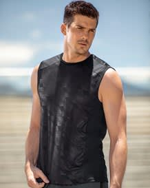 camiseta estampada manga sisa deportiva-700- Black-MainImage