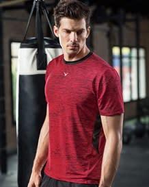 camiseta manga corta deportiva con estampado vibrante-145- Printed-MainImage