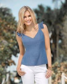 blusa manga sisa indigo-141- Denim-MainImage