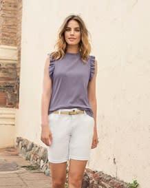 camiseta manga sisa tejido acanalado-422- Purple-MainImage