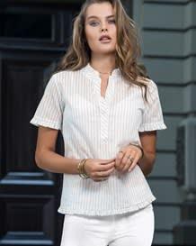 blusa manga corta rayas y silueta amplia-146- Estampado-MainImage