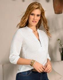 blusa manga 34 cierre funcional-140- Dots-MainImage