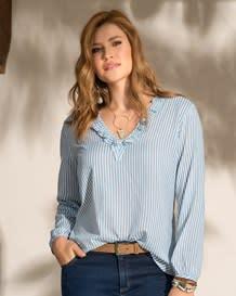 blusa manga larga rayas semiajustada-146- Stripes-MainImage