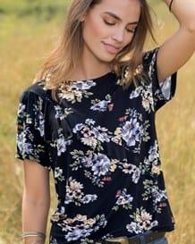 camiseta manga corta en viscosa-077- Estampado-MainImage