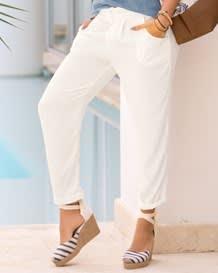 pantalon largo semi-ajustado-806- Ivory-MainImage