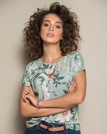 blusa manga corta semiajustada-077- Estampado-MainImage