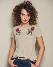 camiseta manga corta marfil-806- Ivory-MainImage