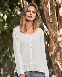 blusa manga larga marfil-878- Ivory-MainImage
