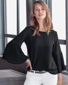 blusa mangas amplias 34-700- Black-MainImage