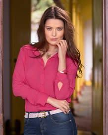 blusa perilla y punos-946- Fuchsia-MainImage