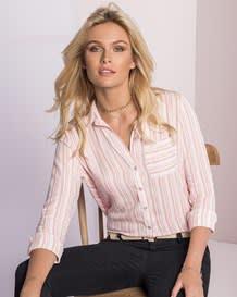 blusa manga larga new essential con perilla y punos funcionales-146- Stripes-MainImage