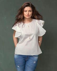 blusa blanca manga corta-000- White-MainImage