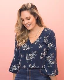 blusa flores manga ancha 34-146- Stripes-MainImage