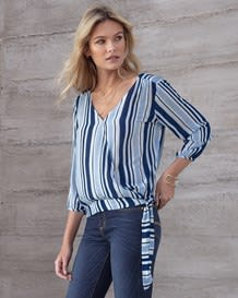 blusa manga 34 anudada en costado-146- Stripes-MainImage