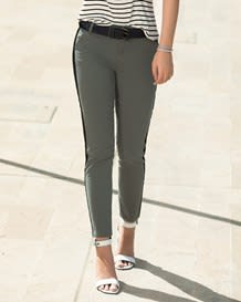 pantalon skinny cinta negra lateral-697- Green-MainImage