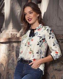 blusa 34 cordon cuello y mangas-077- Estampado-MainImage