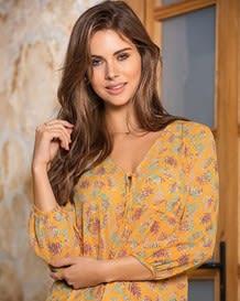 blusa glamour manga 34-077- Estampado-MainImage