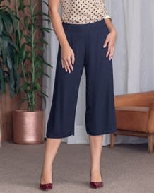 pantalon capri elegante-024- Dark Blue-MainImage