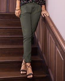 pantalon bota recta bolsillos funcionales-601- Green-MainImage