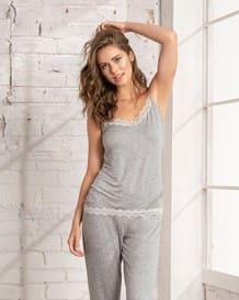 blusa para pijama de tiritas con encaje-717- Gray-MainImage