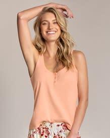 pure cotton pajama shirt-304- Cream-MainImage