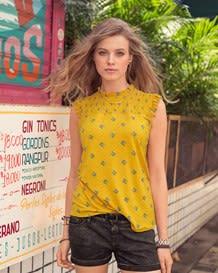 camiseta manga sisa patron flores-145- Printed-MainImage