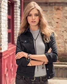 chaqueta jean estampada-700- Black-MainImage