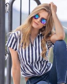 blusa manga corta anudada-146- Stripes-MainImage