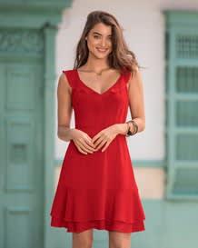 rmelloses kleid-136- Red-MainImage