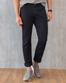 pantalon ajustado en algodon-700- Black-MainImage