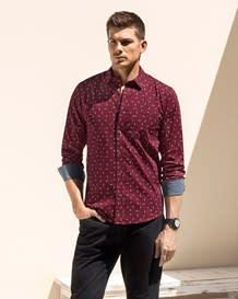 camisa manga larga punos en contraste-145- Blue-MainImage