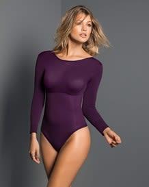body manga larga control fuerte estilo brasilera-409- Purple-MainImage