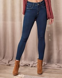 slimming skinny jean-055- Blue-MainImage