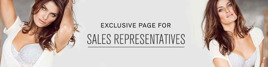 Exclusive Page for Sales Representatives