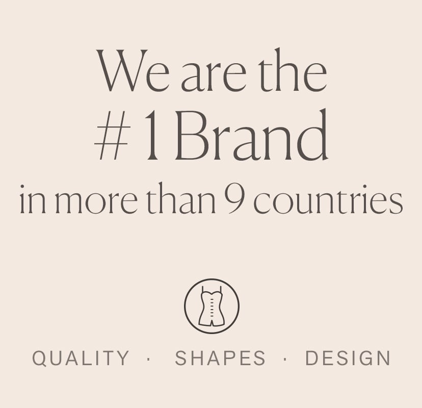 Number one brand in 9 countries