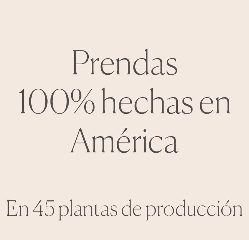100% hecho en America