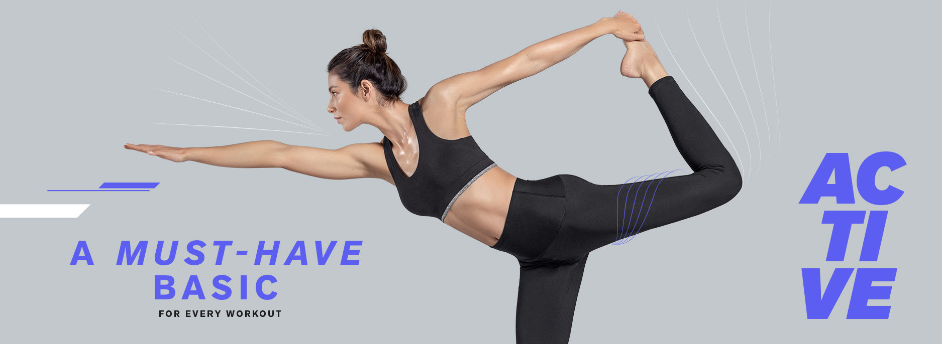ActiveLife High-Waisted Solid Shaper Legging