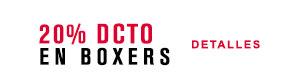 ▷ 20% DCTO en Boxers Mira aquí
