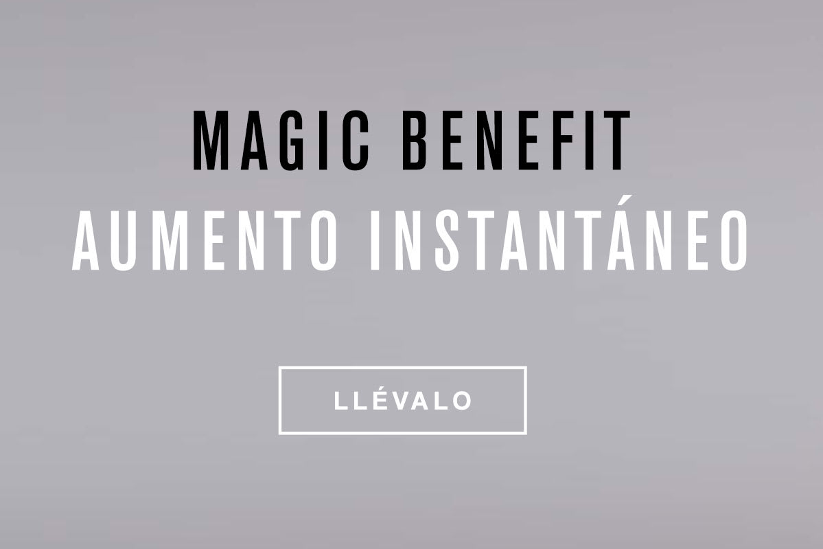 Panty levantacolas Magic Benefit