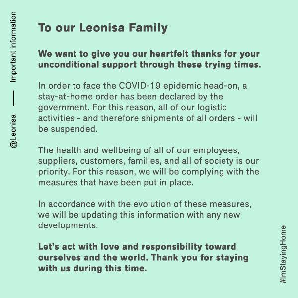Comunicado Leonisa