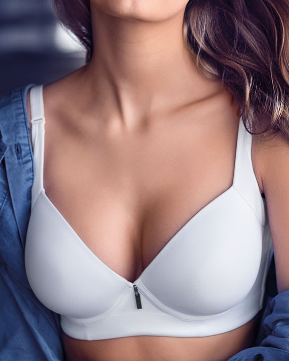 average bust bras