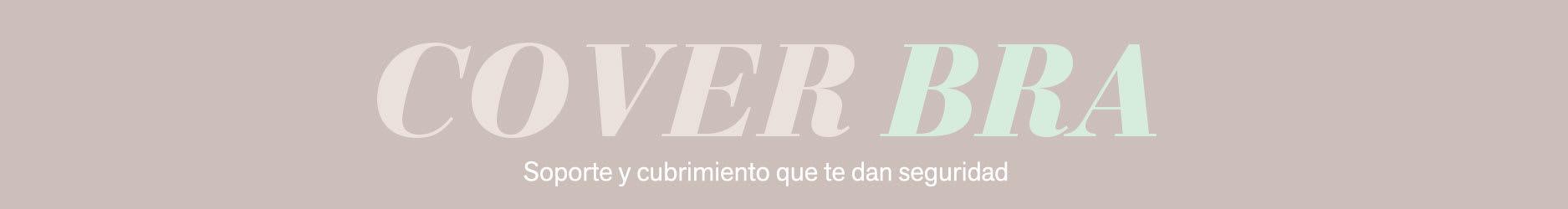 Cover Bra: Brasier de Realce Suave y Cubrimiento