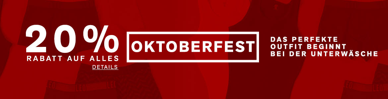Angebot zum Oktoberfest