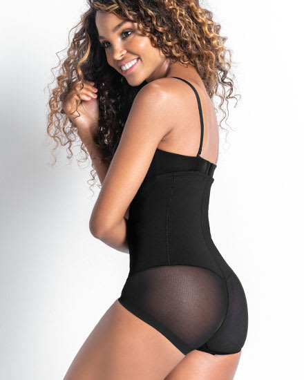 Extra High-Waisted Sheer Bottom Sculpting Shaper Panty