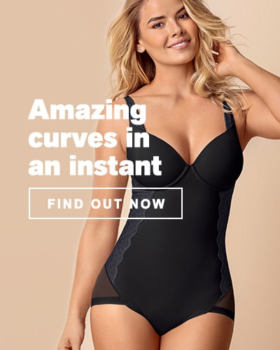 Amazing curves in an instant - Shapewear