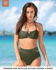 bikini con espalda de anudar-610- Olive-MainImage