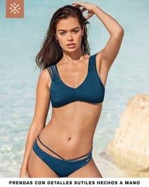bikini con cargaderas estilo tiras y bordado en copas--MainImage