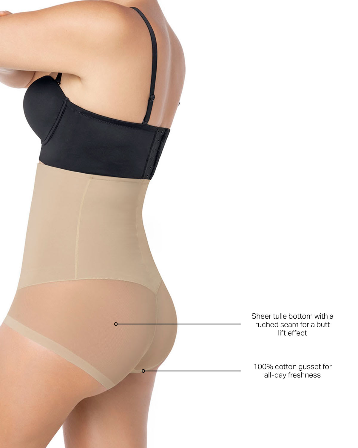 56a09153fe Leonisa Invisible High Waist Bodysuit Tummy Shaper Free Shipping